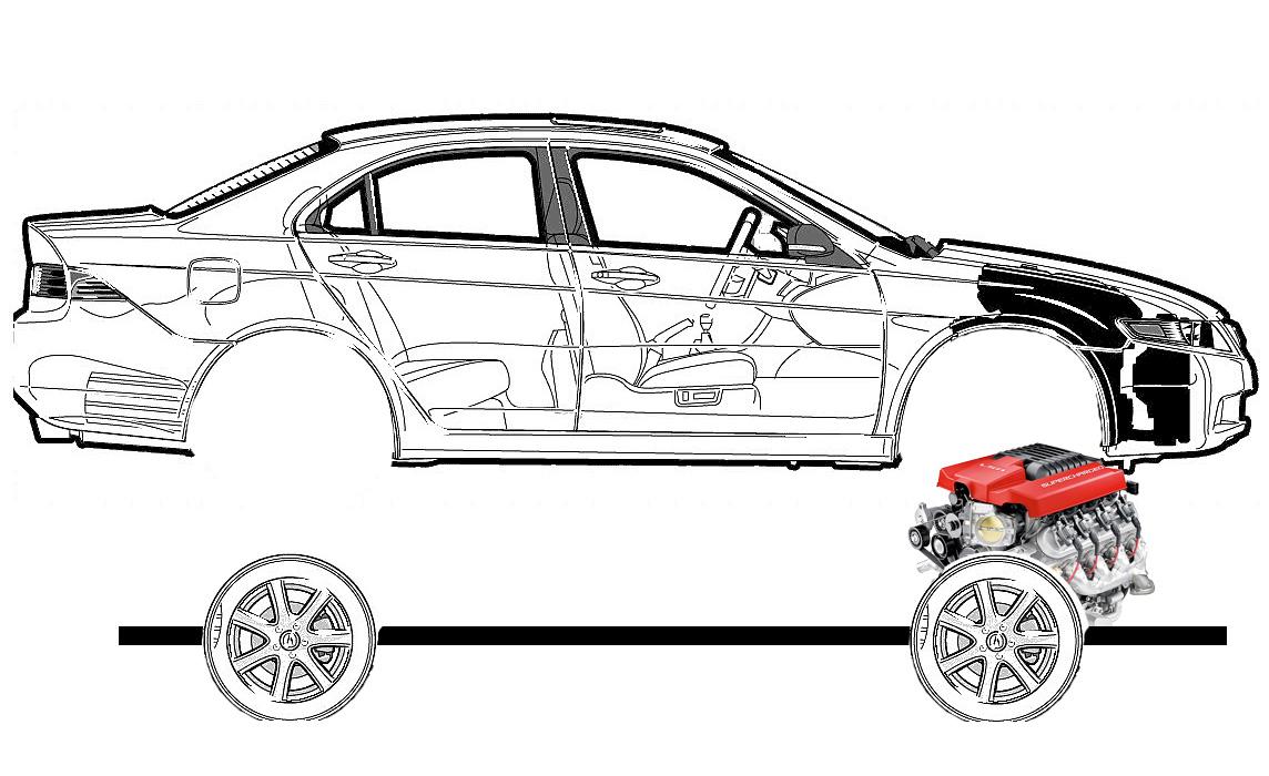 Схема разбора автомобиля конструктор